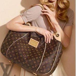 Louis Vuitton Monogram Galliera +Dust Bag+LV box